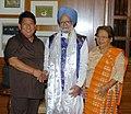 The Chief Minister of Arunachal Pradesh, Shri. Dorjee Khandu calling on the Prime Minister, Dr. Manmohan Singh, in New Delhi on May 30, 2007.jpg