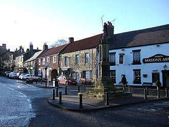 Warkworth, Northumberland - Image: The Cross, Warkworth geograph.org.uk 307203