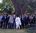 The Emperor of Japan, His Majesty Akihito and the Empress of Japan, Her Majesty Michiko visiting the Lodhi Garden, in New Delhi on December 01, 2013.jpg