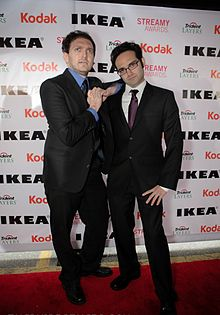 The Fine Brothers at the 2010 Streamy Awards.jpg