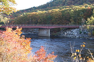 The Glen Bridge - South view from the western shore