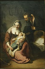 The Holy Family by Rembrandt (1633) - Alte Pinakothek - Munich - Germany 2017.jpg