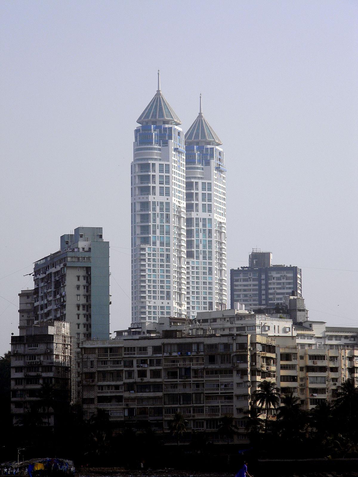 Liste Des Plus Hauts Gratte Ciel De Bombay Wikip Dia
