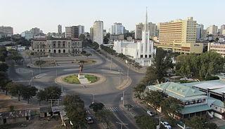 Praça da Independência square in Maputo, Mozambique