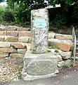 The Laycock Memorial, in the park, Marsden - geograph.org.uk - 852198.jpg