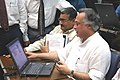 The Minister of State for Commerce, Shri Jairam Ramesh at the inaugural function of electronic auction system for tea traders at Nilhat House, Kolkata on June 20, 2006.jpg