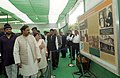 The Minister of State for Culture (Independent Charge), Tourism (Independent Charge) and Civil Aviation, Dr. Mahesh Sharma visiting after inaugurating the exhibition 'Mohan Se Mahatma Tak'.jpg