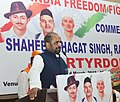 The Minister of State for Home Affairs, Shri Hansraj Gangaram Ahir addressing the gathering at a function organised on the martyrdom day of Bhagat Singh, Rajguru and Sukhdev, in New Delhi on March 23, 2018.jpg