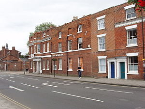 The Minories, Colchester - Front view from Colchester High Street