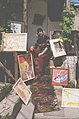The Moldavian artist Vasile Dohotaru, in his studio (the 90-ies famous). (6317884478).jpg