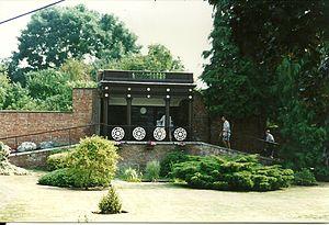 Nelson Garden - Image: The Nelson pavilion in 2011, Nelson Garden, Monmouth