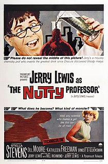<i>The Nutty Professor</i> (1963 film) 1963 film by Jerry Lewis
