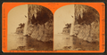 The Pictured Rocks, wreck cliff and cascade, by Childs, B. F..png