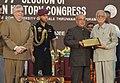 The President, Shri Pranab Mukherjee at the inauguration of the 77th Session of Indian History Congress, at Thiruvananthapuram (1).jpg