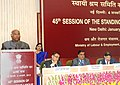 The Union Minister for Labour and Employment, Shri Mallikarjun Kharge addressing the 45th Session of Standing Labour Committee (SLC), in New Delhi on January 04, 2013.jpg