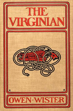 The Virginian (novel) - First edition cover