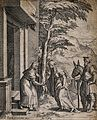 The Visitation of Mary to Elizabeth. Engraving by C. Cort, 1 Wellcome V0034586.jpg