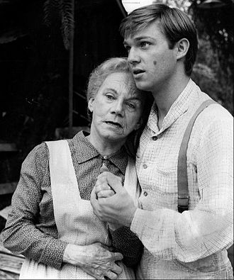 The Waltons - Grandma and John-Boy