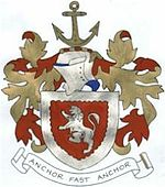 The coat of arms of the Gray family.JPG