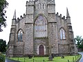 The eastern facade of Downpatrick Cathedral - geograph.org.uk - 1525457.jpg