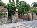 The gates to Yarm School - geograph.org.uk - 489803.jpg