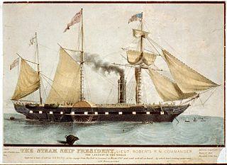 SS <i>President</i> British passenger liner