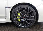 The tire wheel of Subaru WRX STI Type S (CBA-VAB).jpg