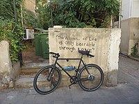 The vastness of life is only bearable through love - Zamenhoff Street, Tel Aviv - 2018-11-03.jpg