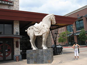 The Woodlands, Texas - P. F. Chang's China Bistro outside The Woodlands Mall