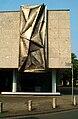 Theodor-Lessing-Platz 2 Hannover Galerie Kubus Ecke Ebhardstraße Stahlrelief Erich Hauser 1965.jpg