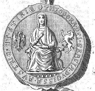 Theodora Angelina, Duchess of Austria - Theodora Angelina