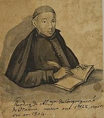 Theodoro de Almeida da Congregação do Oratorio - Álbum M A B A D - Prancha N.8