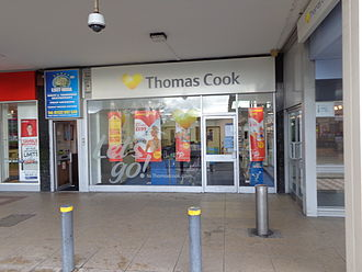 Thomas Cook Group - Thomas Cook travel agency , Cross Gates, Leeds in 2014