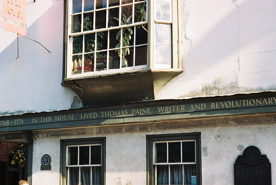 Thomas Paines Lewes home
