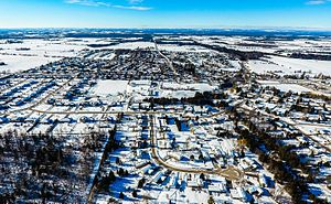 Thornton, Ontario - Aerial view of Thornton