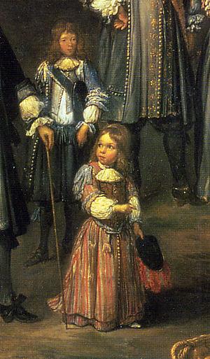 Breeching (boys) - English boys (1670)