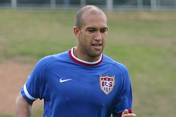 Tim Howard during USMNT practice session