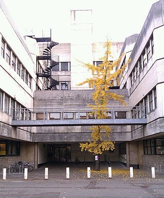 South Parks Road - The Tinbergen Building, used by the zoology and psychology departments.
