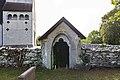 Tingstäde kyrka norra stigluckan mot S.jpg