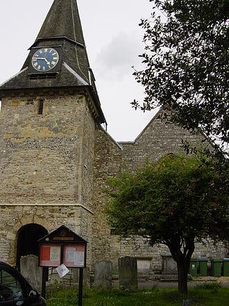 Titchfield - Titchfield St Peter's Church in 2006