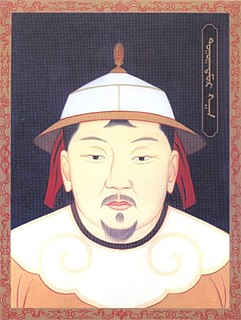 Toghon Temür last Khagan of the Mongol Empire