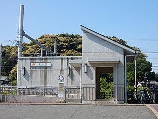 Tōjō Station (Aichi) Railway station in Toyokawa, Aichi Prefecture, Japan