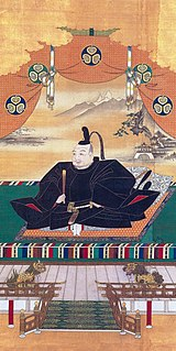 Founder and first shogun of the Tokugawa shogunate of Japan