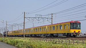 Tokyo Metro 1000 series - Set 1103 on delivery in June 2013