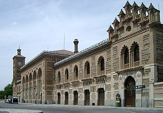 Toledo railway station - Image: Toledo (Spain) Railway Station 1