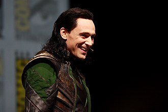 Tom Hiddleston - In character as Loki at the San Diego Comic-Con International promoting Thor: The Dark World in 2013.