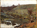 Tom Roberts - A quiet day on Darebin Creek - Google Art Project.jpg