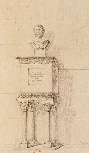 Guilhem Molinier - Image: Tomba Guilhèm Molinièr