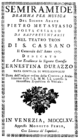 Tommaso Traetta - Semiramide - titlepage of the libretto - Venice 1765.png