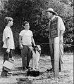 Tommy Rettig, Donald Keeler, Otto Waldis Lassie 1956.JPG